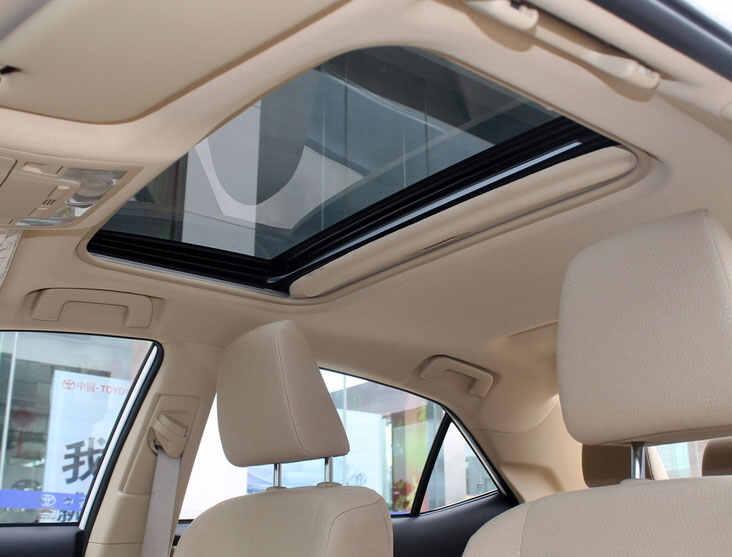 汽车排水系统图_丰田卡罗拉天窗图片,卡罗拉天窗渗水正常吗_车主指南