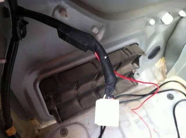 丰田威驰倒车雷达安装方法,威驰加装倒车雷达教程