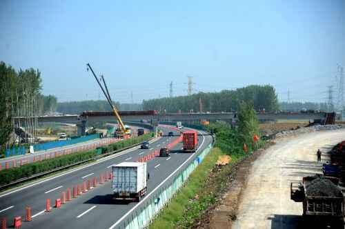 沈海高速公路汤岗子互通式立交工程